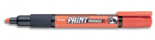 Orange Pentel Permanent bullet tip paint marker MMP20